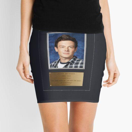 Plaque of Finn Hudson  Mini Skirt