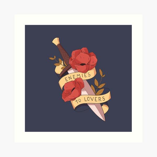 Enemies to lovers - tropes series Art Print