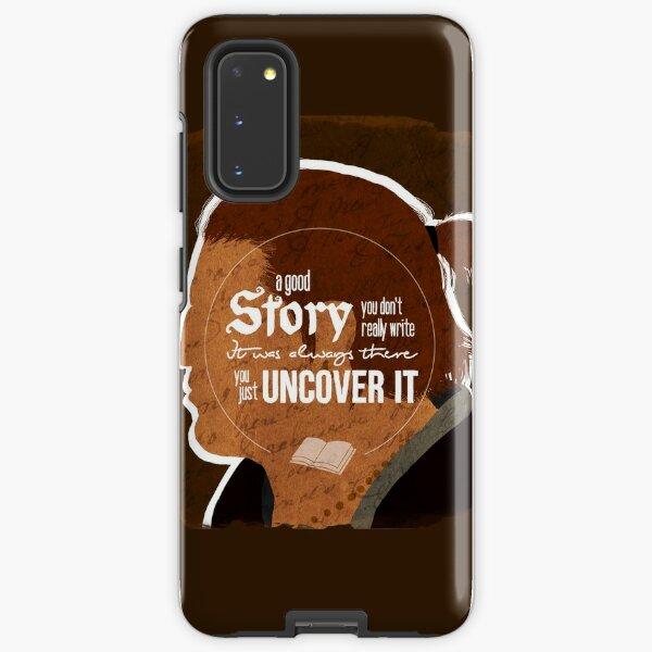 Varric - A Good Story Samsung Galaxy Tough Case