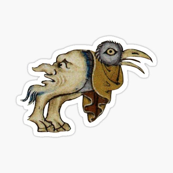 Medieval #11 - The Birdhead Sticker
