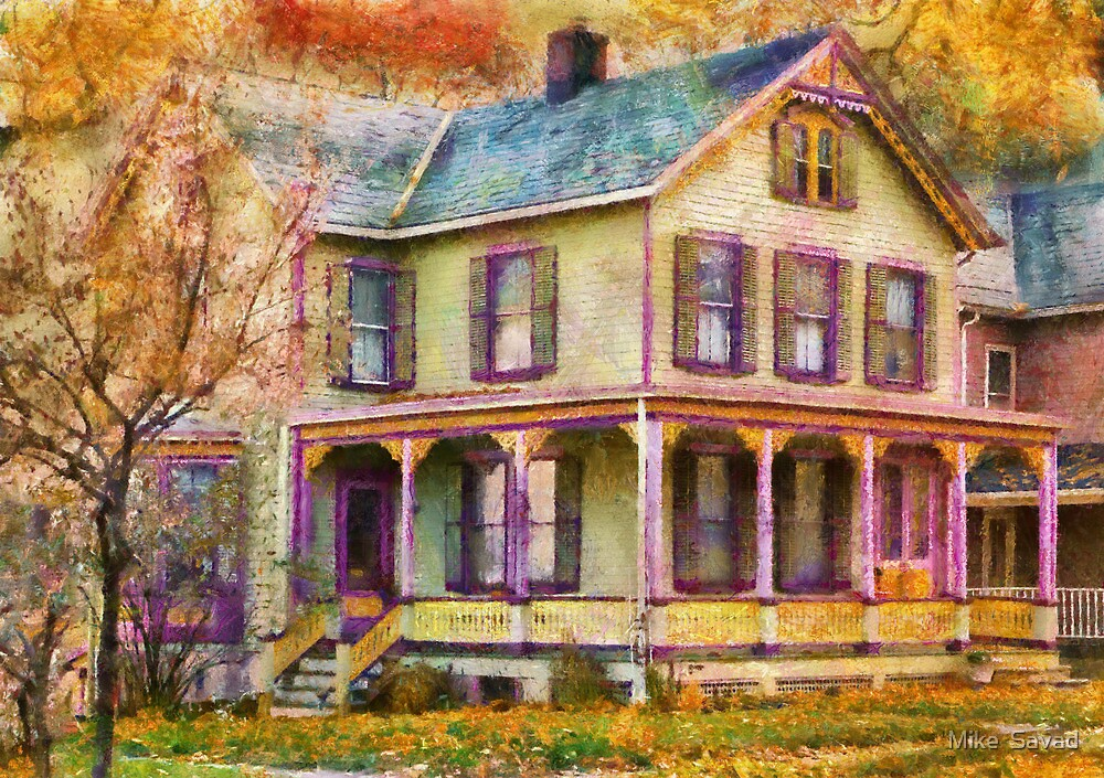 Victorian - Clinton, NJ - Grandma had a big family by Michael Savad