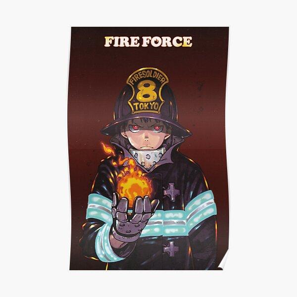 Force de feu, Enen no Shouboutai Poster