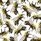 Fleißige Bienen von Notsniw Art