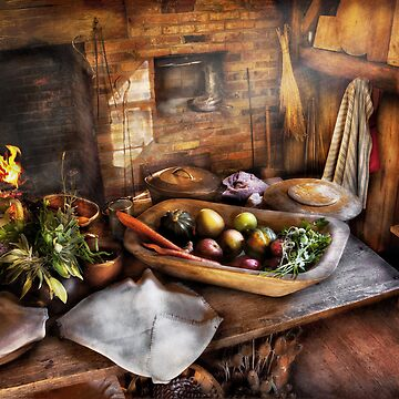 Chef - Kitchen - The start of a healthy meal  by mikesavad