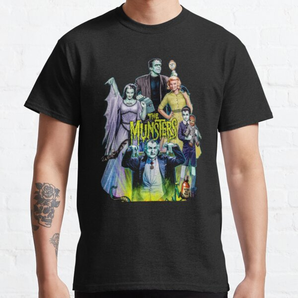 THE MUNSTERS FAMILY PORTRAIT Classic T-Shirt