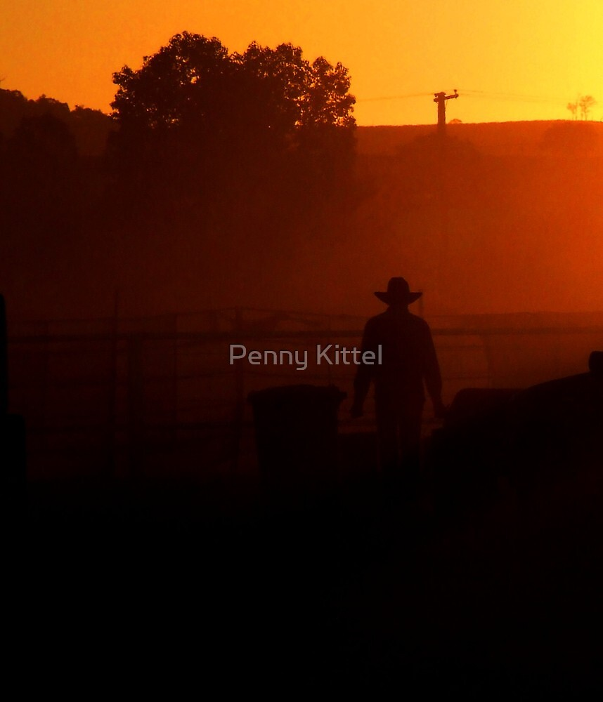 Set in dust by Penny Kittel