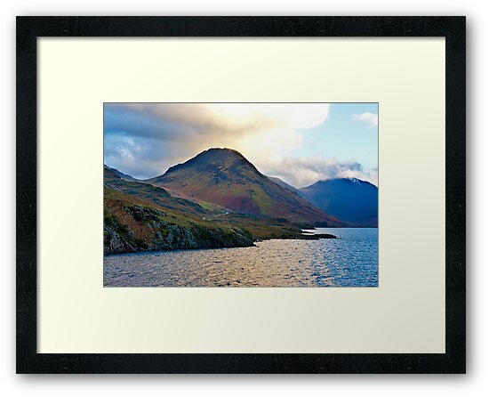 Early Morning at Wast Water by Trevor Kersley
