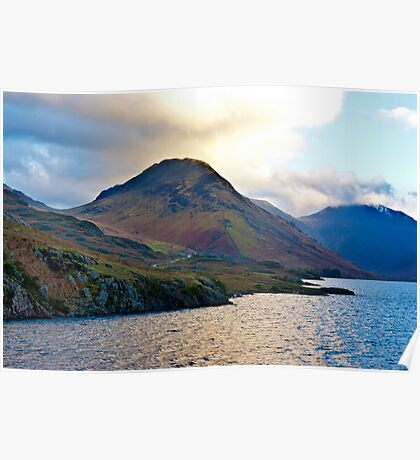 Early Morning at Wast Water Poster