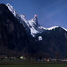 Stockhorn by Moonlight by Mark Howells-Mead
