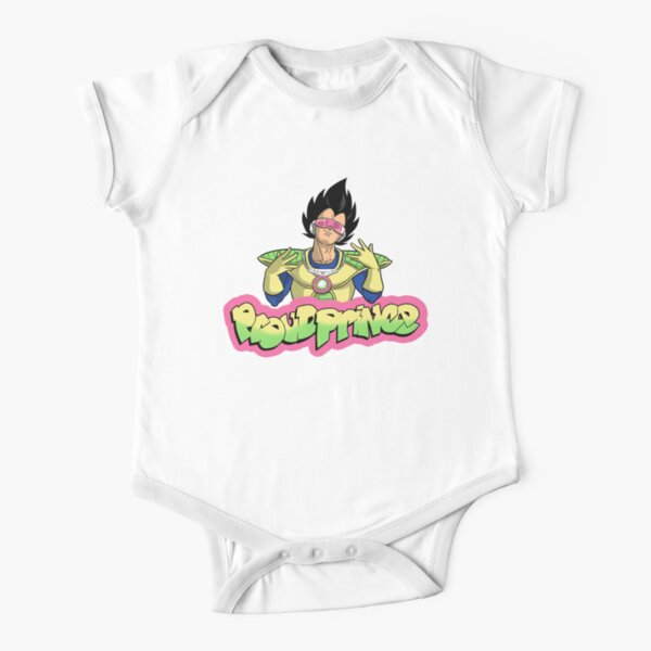 Proud Prince Short Sleeve Baby One-Piece