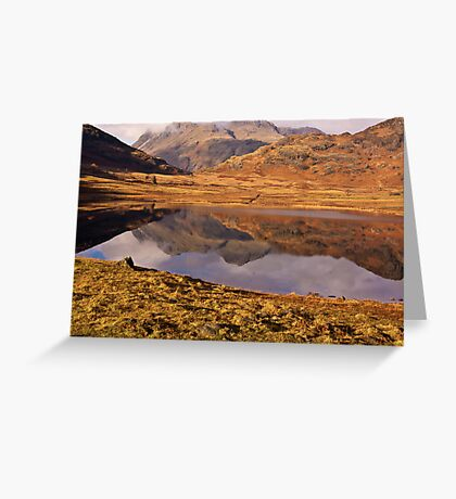Beautiful Blea Tarn Greeting Card