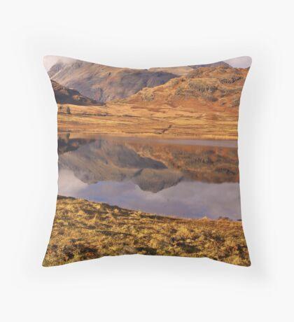 Beautiful Blea Tarn Throw Pillow