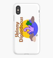 Skinny Diplodocus iPhone Case/Skin