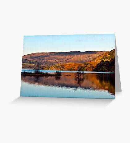 Calm Day on Ullswater Greeting Card