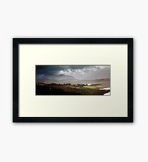 Mountains of Wester Ross, Scotland Framed Print