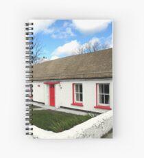 Homestead Donegal Ireland  Spiral Notebook