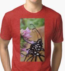 Monarch Butterfly - Breakfast II Tri-blend T-Shirt