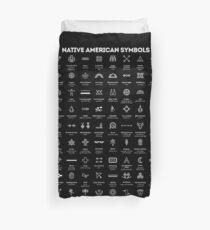 Symbole der amerikanischen Ureinwohner Bettbezug
