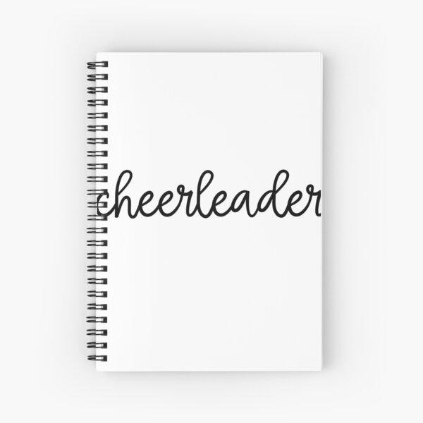 Cheerleader Sticker! Spiral Notebook