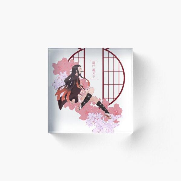 Nezuko - Kimetsu No Yaiba Acrylic Block