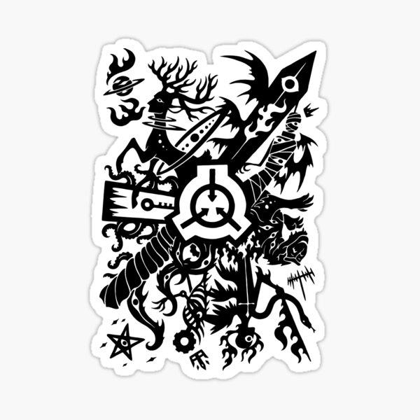 SCP - La Fondation Sticker