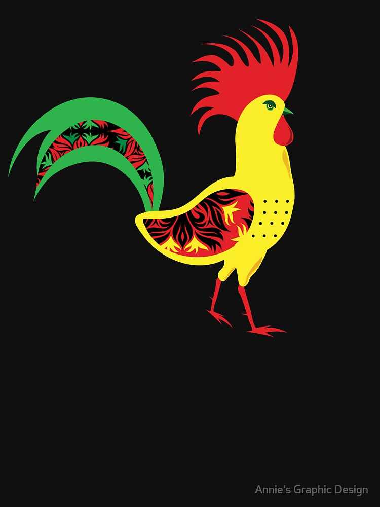 Colourful rooster by anniesdesign