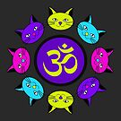 Brights Kitty Mandala by mintdawn