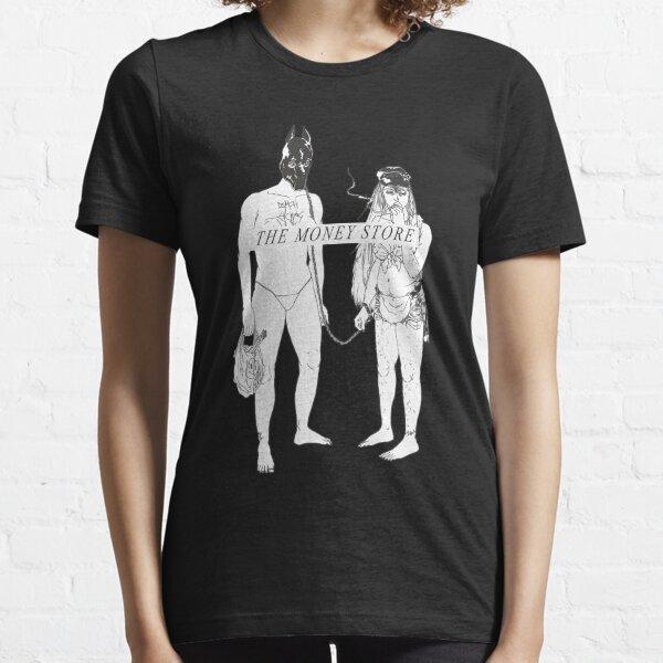 la muerte se apodera de la portada del álbum de la tienda de dinero (censurada) Camiseta esencial