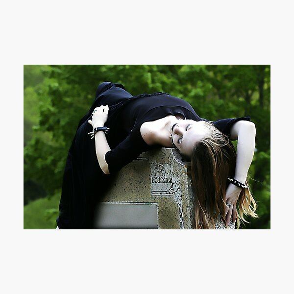 Death Becomes Her Photographic Print