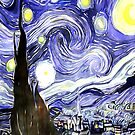 Vincent Van Gogh Paintings Starry Night by CreatedProto