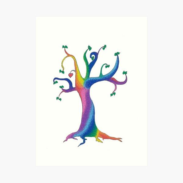 The Candy tree Art Print