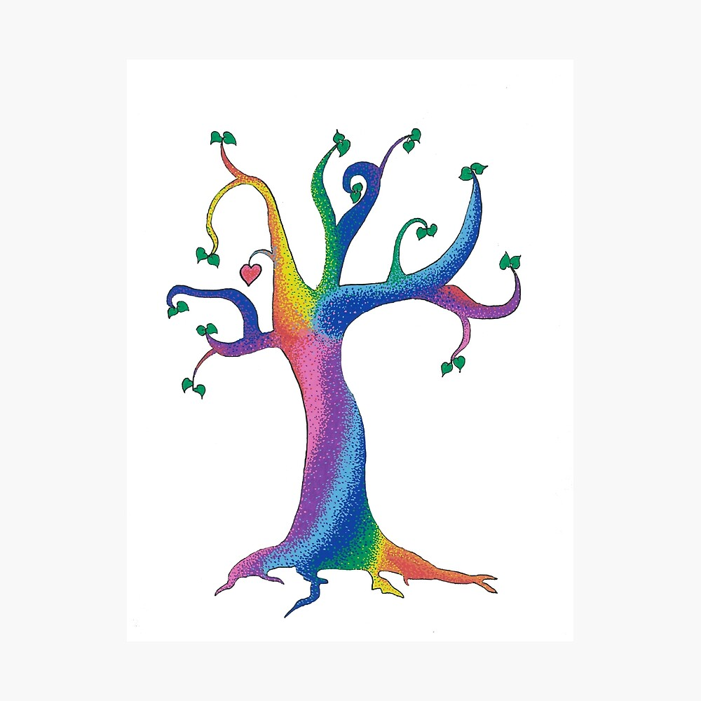 The Candy tree Photographic Print