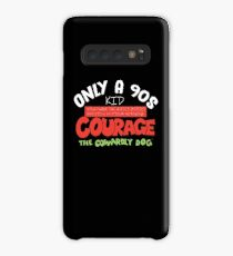 Courage The Cowardly Dog  Case/Skin for Samsung Galaxy
