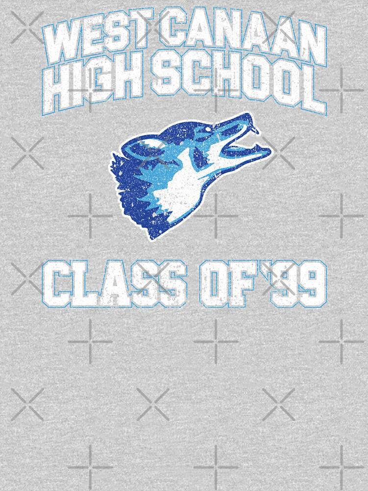 West Canaan High School Class of 99 - Varsity Blues by huckblade