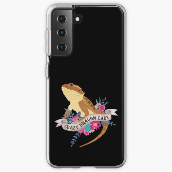 Crazy Dragon Lady  Samsung Galaxy Soft Case