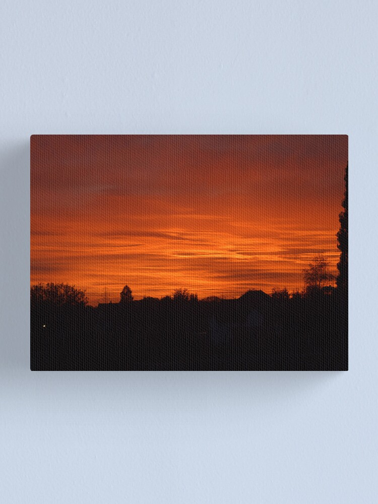 Alternate view of Jovian Sunset Canvas Print