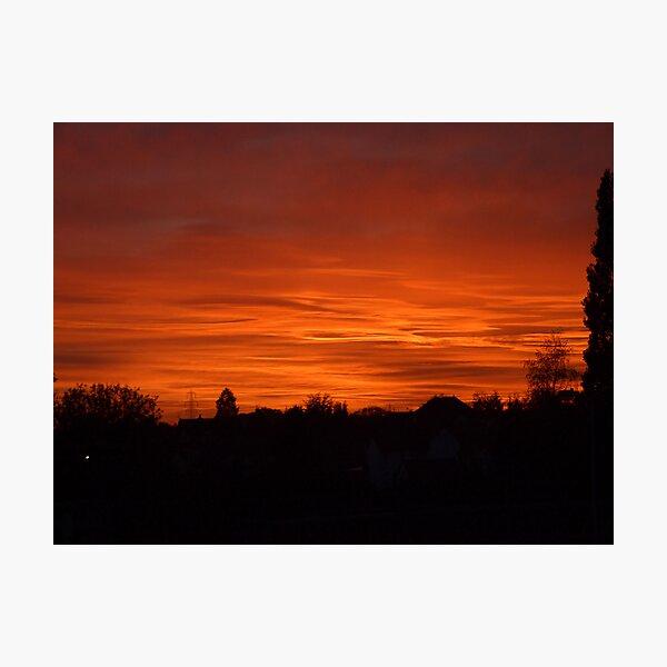 Jovian Sunset Photographic Print