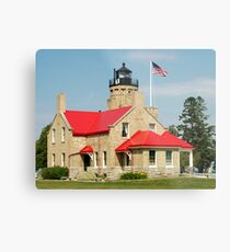 Old Mackinac Point Lighthouse Metal Print