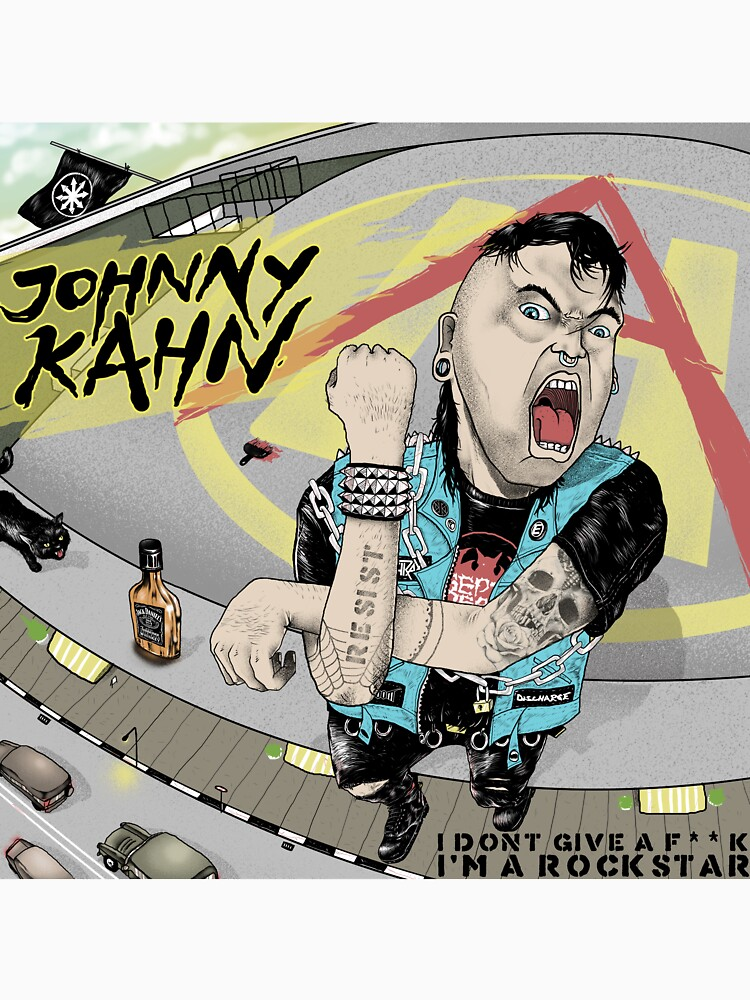 I dont give a **** im a rockstar by Johnnykahn