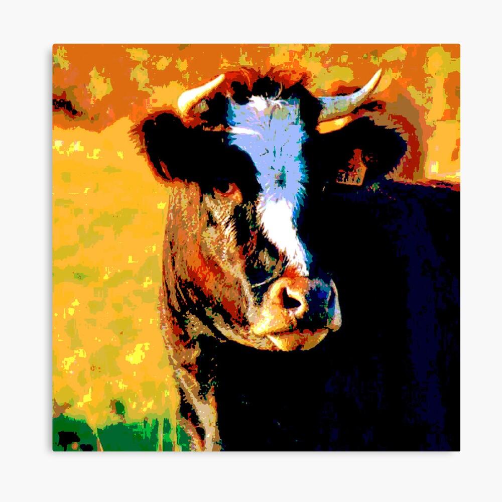 Cow debout 2 Canvas Print