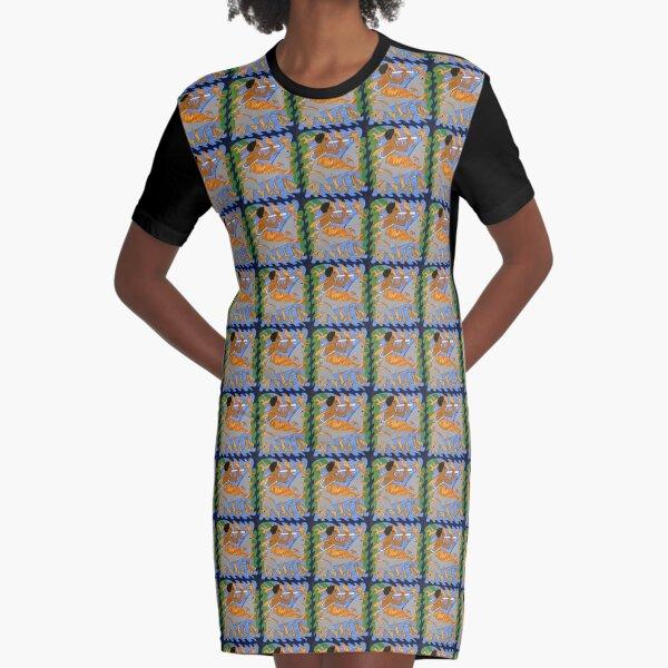 Encantado II Graphic T-Shirt Dress