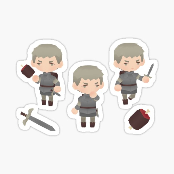 laius ( delicious in dungeon ) Sticker