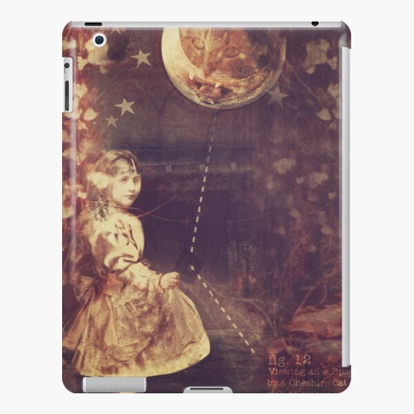 Alice and the Cheshire Cat iPad Snap Case