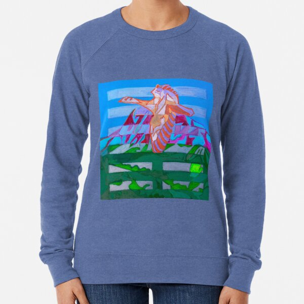 Hexagram 20: Kuan (Contemplation) Lightweight Sweatshirt