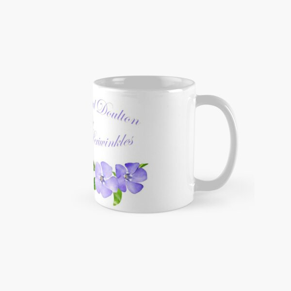 Royal Doulton with Hand Painted Periwinkles Classic Mug