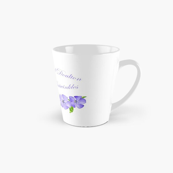 Royal Doulton with Hand Painted Periwinkles Tall Mug
