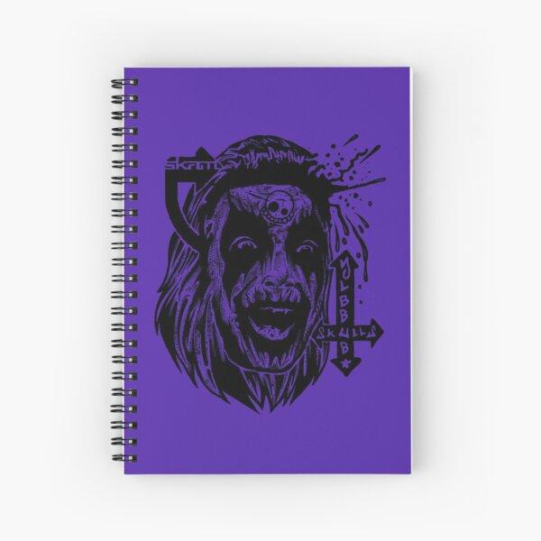 Bubblyskull X Skam Collab Spiral Notebook