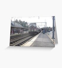 1704 MBTA Commuter Rail (OUTBOUND) Greeting Card