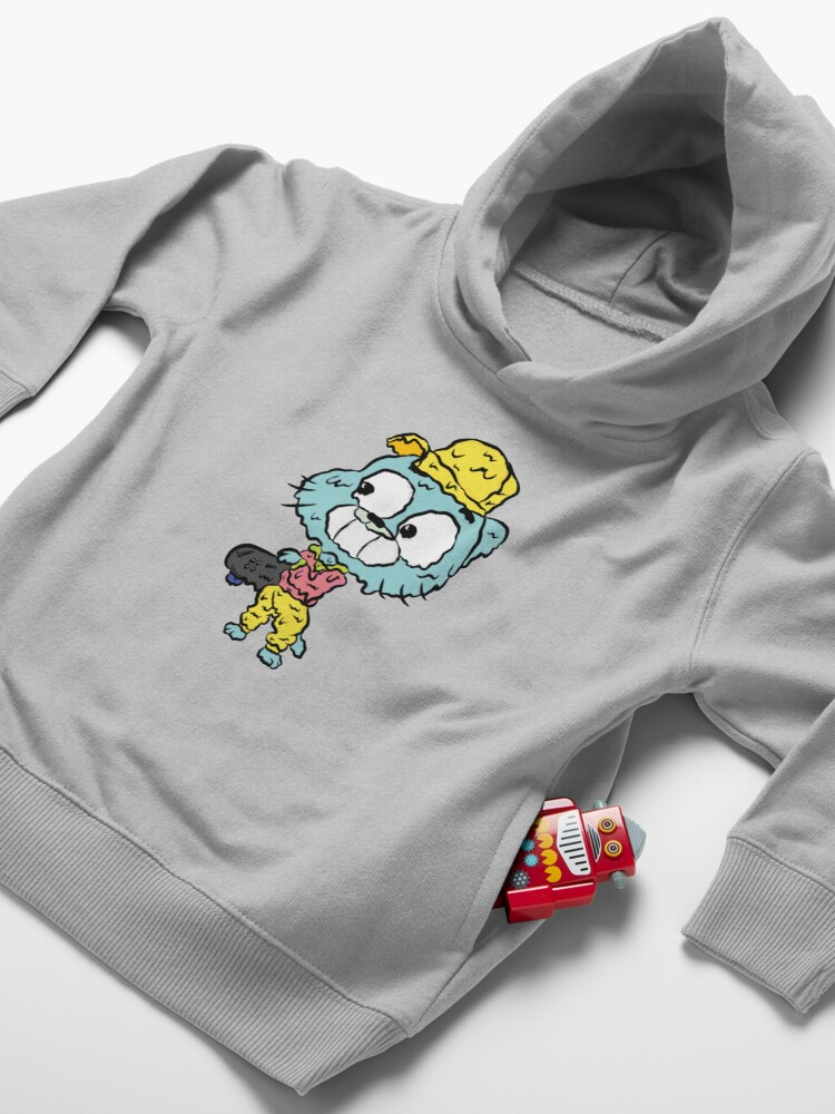 Alternate view of Skater Gumball - The Amazing World of Gumball Toddler Pullover Hoodie