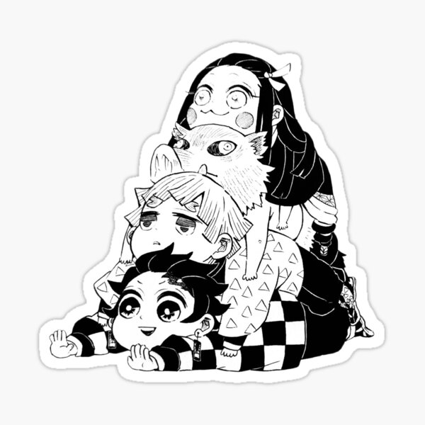 Demon Slayer Kimetsu no Yaiba Sticker